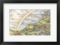 Framed Princess Rosie's Castle
