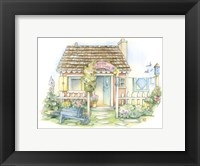 Framed Rose Cottage