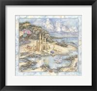 Framed Sandcastle psd