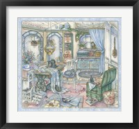 Framed Sewing Room