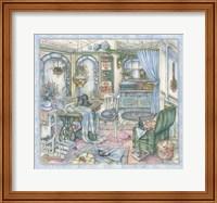 Framed Sewing Room