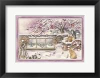 Framed Snowy Crabapple