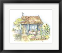 Framed Sweet Water Cottage