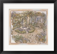 Framed Well inthe Garden