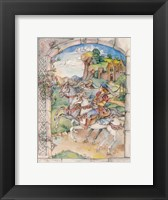 Framed Fairy Tale Couple