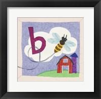 ABC B Framed Print