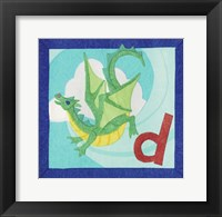 Framed ABC D