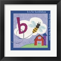 Framed B is For Bee