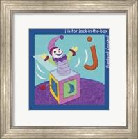 Framed J is For Jack
