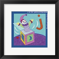 Framed J is For Jack