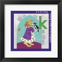 Framed K is For King