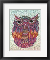 Framed Amazing Owl