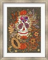 Framed Autumn Skull