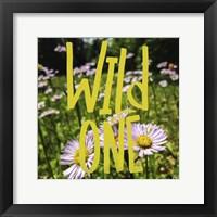 Framed Wild One Flowers
