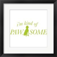 Framed Pawesome Dog
