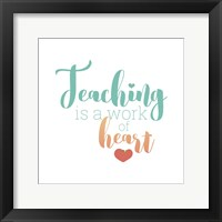 Framed Teaching Is