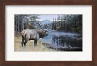 Framed Elk River