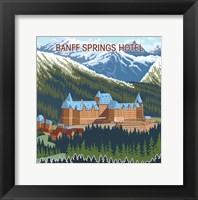 Framed Banff, Alberta