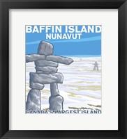 Framed Baffin Island