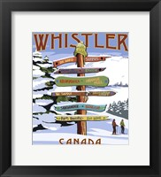 Framed Whistler