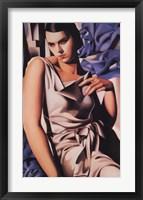 Madame M Framed Print