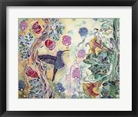 Framed Hummingbird Delight
