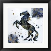 Framed Galactic Horse
