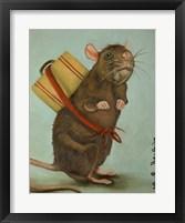 Framed Pack Rat