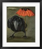 Framed Ravens Rain 2