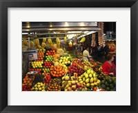 Framed Barcelona Market