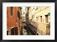 Framed Delivery in Venice