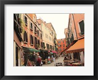 Framed Market in Venice