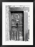 Framed Midevil Entrance