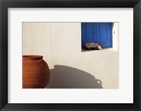 Framed Nap Time in Mykonos