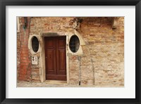 Framed Venice Doorway