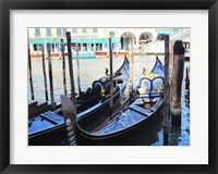 Framed Venice in Blue