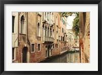 Framed Venice Waterway