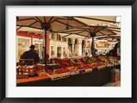 Framed Verona Market