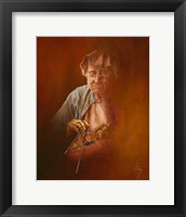 Framed Granny's Hobby