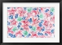 Framed Festive Flower Patterns I