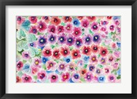 Framed Festive Flower Patterns II