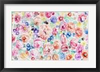 Framed Festive Flower Patterns III