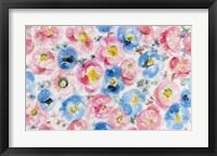 Framed Festive Flower Patterns IV