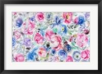Framed Festive Flower Patterns V