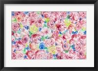 Framed Festive Flower Patterns VIII