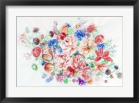 Framed Floral Arrangement VI