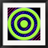 Framed Black Light Pattern 2