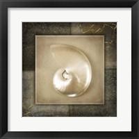 Framed Light Gold Sea Warm 2