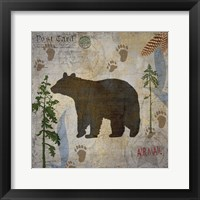 Framed Bear Lodge