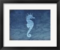 Framed Gypsy Blue Cyanotype V5